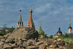 Nuevas vistas de la Moscú el Kremlin Fotografía de archivo libre de regalías