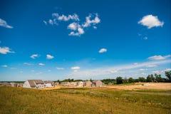 Nuevas viviendas Fotografía de archivo