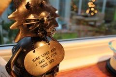 Nueve vidas Eagle Toy imagen de archivo libre de regalías