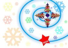 Nuevo 2010 Imágenes de archivo libres de regalías