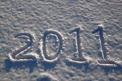 Nuevo 2011 Foto de archivo