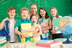 Nuevo año escolar Imagen de archivo libre de regalías