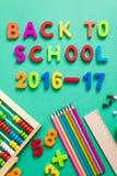 Nuevo año escolar 2016-2017 Fotos de archivo