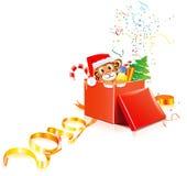 Nuevo-Año-tigre Imágenes de archivo libres de regalías