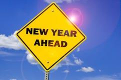 Nuevo año venidero Imágenes de archivo libres de regalías