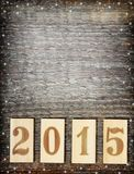 Nuevo 2015 años Fotografía de archivo libre de regalías