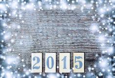 Nuevo 2015 años Foto de archivo libre de regalías
