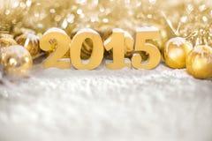 Nuevo 2015 años, Imagen de archivo libre de regalías