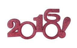 Nuevo 2016 años Fotos de archivo libres de regalías