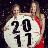 Nuevo 2017 años agradable Fotos de archivo