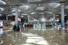Nuevo aeropuerto internacional de Estambul imágenes de archivo libres de regalías
