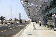 Nuevo aeropuerto internacional Ramón cerca de Eilat Fotografía de archivo