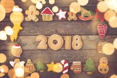 Nuevo 2018 agradable Fotos de archivo