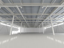 Nuevo almacén vacío moderno