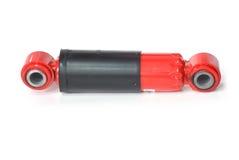 Nuevo amortiguador de choque rojo Foto de archivo