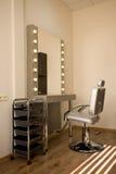 Nuevo artista de maquillaje del lugar de trabajo Fotografía de archivo libre de regalías