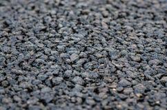 Nuevo asfalto, superficie de la carretera Fotografía de archivo libre de regalías