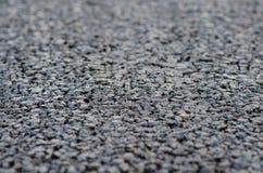Nuevo asfalto, superficie de la carretera Fotos de archivo