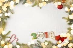 Nuevo aviso 2018 Fotografía de archivo libre de regalías