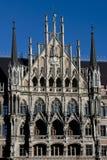 Nuevo ayuntamiento de Munich Foto de archivo libre de regalías
