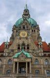 Nuevo ayuntamiento en Hannover Imagen de archivo