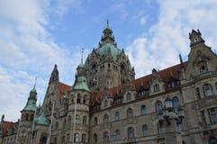 Nuevo ayuntamiento en Hannover imagen de archivo libre de regalías