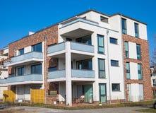 Nuevo bloque de viviendas en Berlín Imagen de archivo libre de regalías
