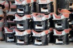 Nuevo brasero del carbón de leña Fotografía de archivo libre de regalías