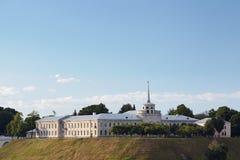 Nuevo castillo en Grodno Bielorrusia fotografía de archivo libre de regalías