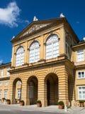 Nuevo castillo en Pappenheim en Baviera fotos de archivo
