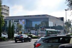 Nuevo centro de Horev en el distrito de Haifa Ahuza en el Mt Carmel, cerca del centro ISRAEL de Carmel, horev del merkaz fotos de archivo