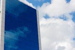 Nuevo centro de negocio de los rascacielos Fotografía de archivo