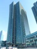 Nuevo centro de negocios Imagen de archivo libre de regalías
