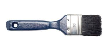 Nuevo cepillo de pintura azul marino Imagen de archivo