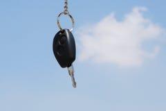 Nuevo clave del coche Foto de archivo