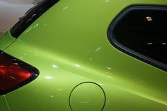 Nuevo coche - cara Fotografía de archivo