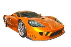Nuevo coche de deportes fotografía de archivo libre de regalías