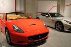 Nuevo coche de deportes convertible italiano Imagenes de archivo