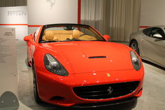 Nuevo coche de deportes convertible italiano Imagen de archivo