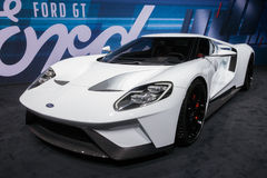 Nuevo coche de 2017 Ford GT Fotografía de archivo libre de regalías