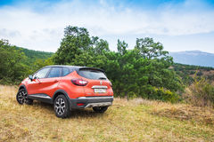 Nuevo coche de Renault Kaptur foto de archivo libre de regalías