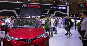 Nuevo coche de Toyota C-HR exhibido en IIMS 2018