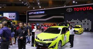 Nuevo coche de Toyota Yaris exhibido en IIMS 2018
