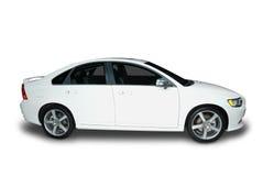 Nuevo coche híbrido Imágenes de archivo libres de regalías