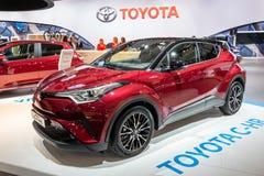 Nuevo coche subcompact de SUV de la cruce de Toyota C-HR imagen de archivo