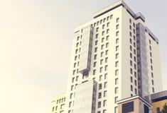 Nuevo complejo de edificios residenciales Fotos de archivo libres de regalías