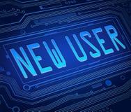 Nuevo concepto del usuario.