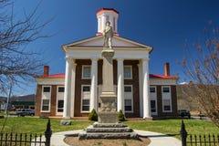 Nuevo Craig County Confederate Memorial Foto de archivo libre de regalías