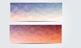 Nuevo Crystal Banner Imagen de archivo libre de regalías