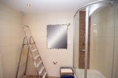 Nuevo cuarto de baño imagen de archivo libre de regalías